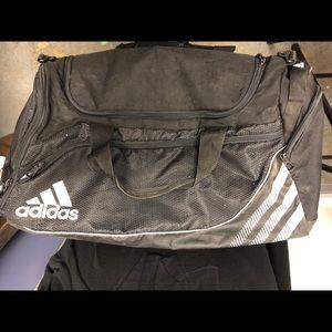 Adidas Black Used Gym Bag B-11